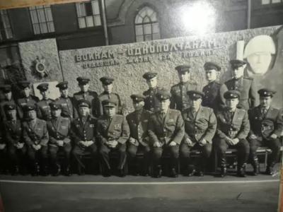 Министр внутренних дел СССР генерал-полковник Щелоков  посетил наш полк в 1969г.
