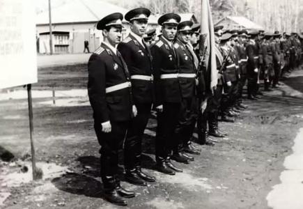 Слева направо: Малашонок А.И.,Куркин С.А.,Хитров А.И., Поляков В.П..