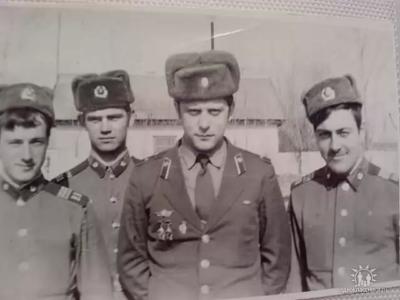 Ст.л-т Киреев А. А. - нач. штаба 2 батальона г. Вихоревка в.ч 6619