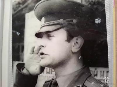 Ст. л-т Киреев А.А. -командир 4 роты п.Хоняки