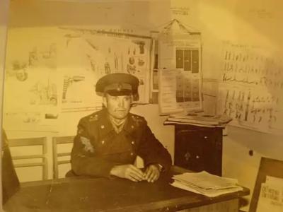 Старшина 4 роты пр-к Попов(4 рота) п. Хоняки