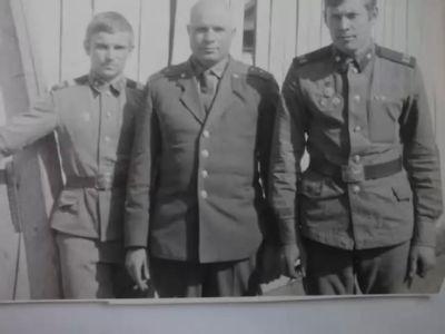 Лесогорск 5 рота 1975 год