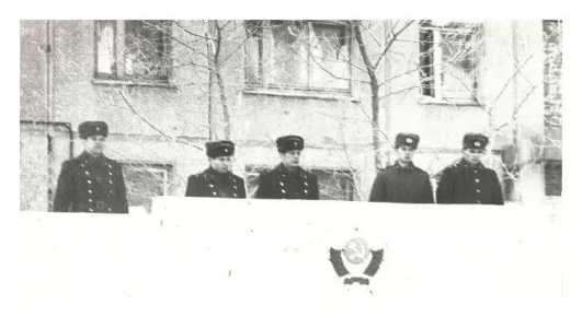 Учебный пункт  войсковой части 6619 г. Саянск  фото 1986 года