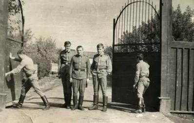 1971-73 гг 1 рота