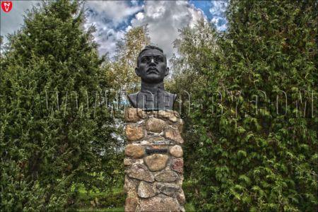 21 памятник на родине Бича И.А. в Белоруссии
