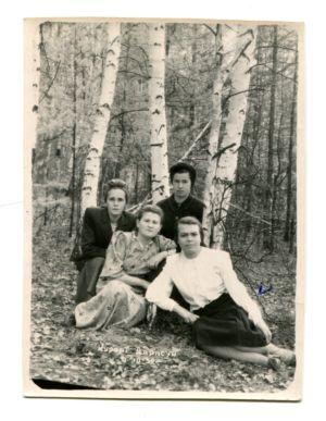 29 -Ульяна Ивановна(в белой блузке) на курорте Дарасун.