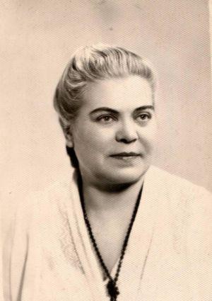 6.  Вера Ивановна Бич (по мужу Попова), дочь И.А.Бича-Таежного