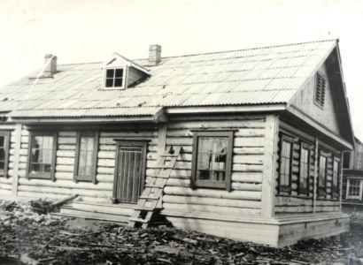 поселок ХЛХ строится 60-70-е годы
