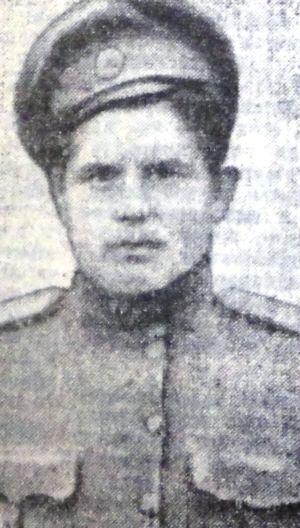 Александр Андреевич Мамаев (Щегальков) из 6 роты