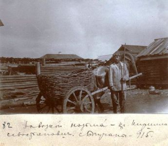 Крестьянин Кирилл Севостьянович (?) село Бирюса