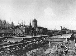 Станция Байроновка Перед Гражданской войной