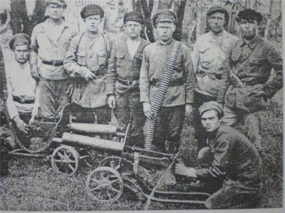 Группа шиткинских партизан