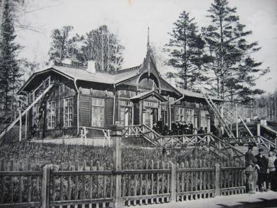 Станция Ключи Транссиб Перед гражданской войной