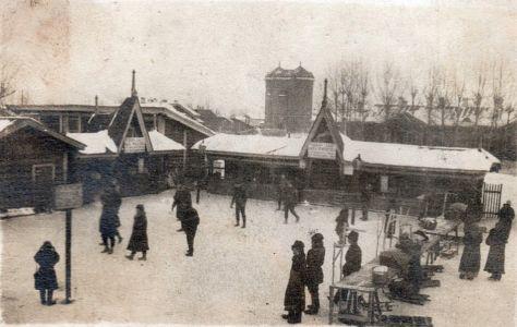 Станция Тайшет, привокзальная площадь. Перед гражданской войной