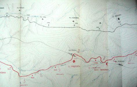 Железнодорожные пути на тайшетском участке - объект диверсий партизан
